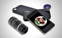 Efecto ojo de pez y un teleobjetivo de 8x para tu iPhone http://www.doferta.com