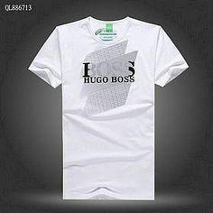 Vendre Pas Cher Homme Hugo Boss Tee Shirts H0141 En ligne En France.