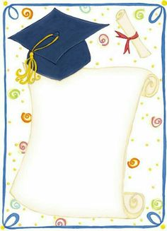 Congratulations to _student Maryam AlSayar You was an example of diligence and excellence congratulations Graduation Images, Graduation Cards, School Frame, Kids Background, School Clipart, Birthday Frames, Kindergarten Graduation, Borders For Paper, School Gifts