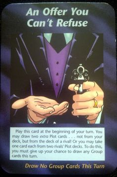 Illuminati Card Game - An Offer You Can't Refuse