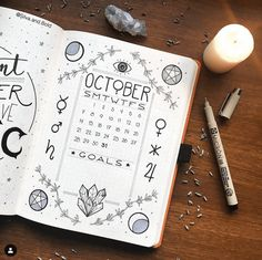 Bullet Journal Theme Ideas by Month It is always super difficult to come up with a theme. Here is a list of over 100 bullet journal theme ideas organized by month. Bullet Journal Cover Page, Bullet Journal Mood, Bullet Journal Themes, Bullet Journal Spread, Journal Covers, Bullet Journal Inspiration, Journal Pages, Journal Ideas, Monthly Bullet Journal Layout