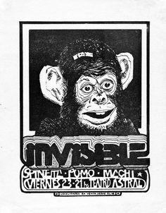 Afiches Invisible Spinetta