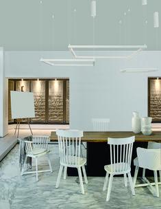Minimalista és mégis izgalmas! Nova, Conference Room, Dining Table, Modern, Furniture, Home Decor, Trendy Tree, Decoration Home, Room Decor