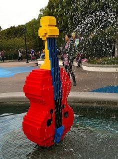 Lego Double Bass♬♪♩