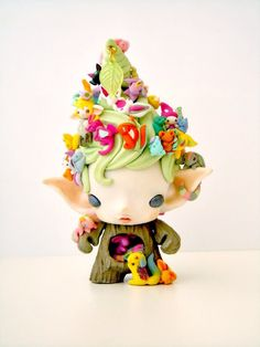 The Tree Spirit Munny  Created by Mijbil Creatures)
