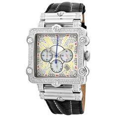 JBW Men's 'Phantom' Silver Diamond and Stainless Steel Watch | Overstock.com Shopping - Big Discounts on JBW Men's More Brands Watches