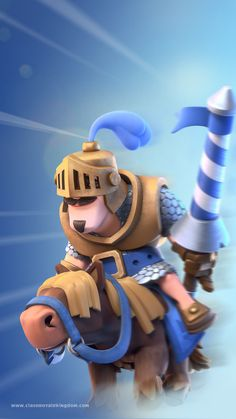 Clash royale wallpaper -- CHARGED PRINCE