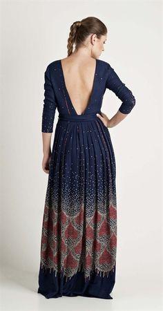 Vestido Longo Barrado Corações | Novidades | Antix Store