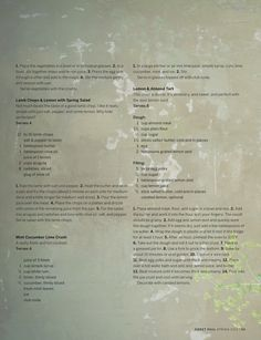 Lemon & Almond Tart recipe