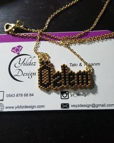 Ve bir isim daha sahibine ulaşmak üzere... #yıldızdesign #taki #tasarım #miyukibeads #miyukidelicas #beadwork #beads #yeniyıl #yılbaşı #hediyelik #özlem #isimkolye #instalike #instajewelery #instagram #like4like #instalike #stil #moda #tarz #istanbulprovince