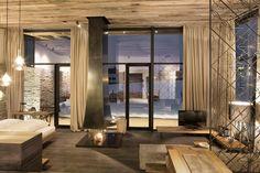 Hotel Wiesergut, Salzburg.   Planning +  Implementation: Gogl Architekten.  Interior Furniture + Design: Gogl Architekten.