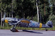 Me-109 G Cabina Erla. Finlandés