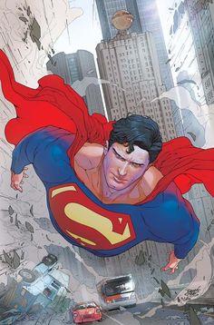 Superman 674 colors by ~RenatoGuedes