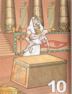 Ideias para as lições das Pragas do Egito e Dez Mandamentos.   Aqui alguns link com algumas sugestões para fazer com os alunos.   praga...