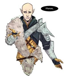 "myth-and-mischief: "" kay-jo-mackie: "" Solas as requested by warsonghold. Enjoy~ "" @assassin-yuki """