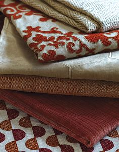 Cowtan & Tout: like pattern weave and two tone on top fabric