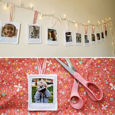 Polaroid style picture frame: crochet or use felt Photo Projects, Diy Craft Projects, Diy And Crafts, Projects To Try, Ikea Lack Regal, Polaroid Pictures, Polaroids, Polaroid Ideas, Do It Yourself Projects