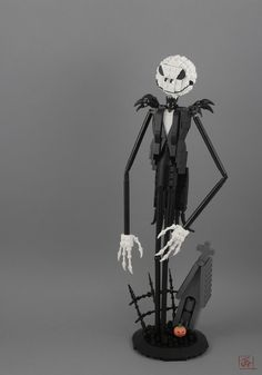 Jack Skellington from The Nightmare Before Christmas by J.B.F. #LEGO