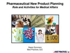 Pharma New Product Planning- Medical Affairs Report Summary