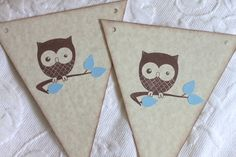 Hey, I found this really awesome Etsy listing at http://www.etsy.com/listing/97494359/7-piece-pennant-banner-baby-boy-owl-baby