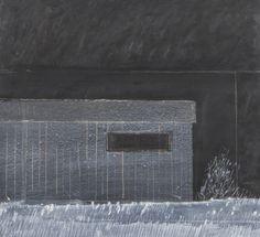 Reino Hietanen: Yö, sekatekniikka, 42x45 cm - Hagelstam A148