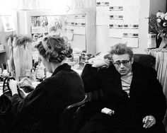 Geraldine Page & James Dean Geraldine Page, James Dean Photos, Smokey Joe, Rebel Without A Cause, East Of Eden, Jimmy Dean, Bad Picture, Daniel Gillies, Aesthetic Boy