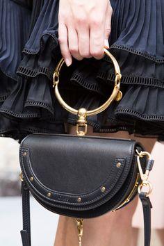 Chloé at Paris Fashion Week Spring 2017 - Backstage Runway Photos