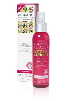 Best Organic Skincare Products - Andalou Naturals Rose Floral Toner | Makeup Tutorials http://makeuptutorials.com/organic-makeup-skincare-product-reviews