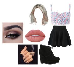 """""""Untitled #1715"""" by hey-mate ❤ liked on Polyvore featuring ALDO and Lime Crime"""
