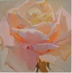 Lovely rose painting by Karen O'Neil Karen O'neil, Illustration Photo, Wow Art, Arte Floral, Beautiful Paintings, Rose Paintings, Oeuvre D'art, Painting Inspiration, Painting & Drawing