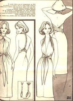 infinite dress   Many ways to wear dress ~ Craft , handmade blog