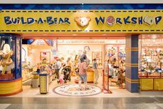 Build-A-Bear Workshop, Bloomington MN. Find more birthday party adventures on sKIDaddlers.net!