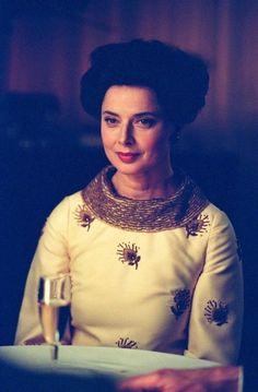 Isabella Rossellini as Marella Agnelli in director Douglas McGrath's Infamous