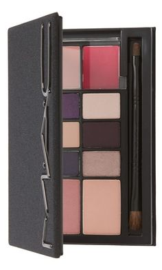 This plum-mauve MAC face kit features everything needed to achieve the perfect look.