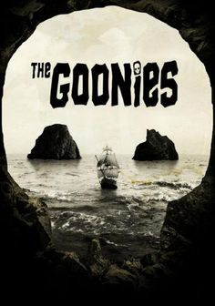 Goonies poster Metal Sign Wall Art 8inx12in
