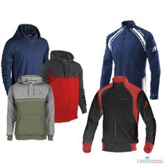 Hooded and Non Hooded #Teamwear #Jackets Pack