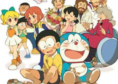 On pixiv there are a lot of work that look so close to the original anime, manga, etc that they could be passed off as o. Doraemon Wallpapers, Cute Cartoon Wallpapers, Doremon Cartoon, Cartoon Characters, Manga, Onii San, Old Anime, Illustrations And Posters, Chibi