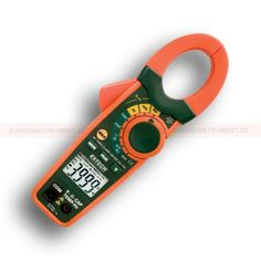 """http://termometer.dk/stromtang-r13561/ac-stromtang-r13562/amperemeter-med-en-sporbar-kalibrering-certifikat-ex720-53-EX720-NIST-r13578  Amperemeter med en sporbar kalibrering certifikat EX720  Multimeterfunktioner omfatter AC Strøm, AC / DC spænding, modstand, frekvens, kapacitans, Type K Temperatur, diode-og  Peak funktion indfanger indkoblingsstrømme og spændingsvariationer  Sand RMS spænding og strøm målinger  1.2 """"(30mm) cirkulær kæbeåbning til store kabler (500MCM)..."""