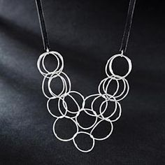 Suzannes-Hand-Hammered-Circles-Necklace