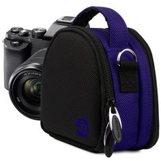 VanGoddy Royal Blue Compact Camera Case for Small Size Digital Compact Cameras * Click image to review more details.