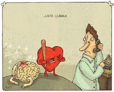 El corazón puede ser muy traicionero #Humor