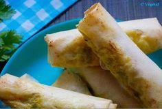 Rouleaux de fondue de poireaux aux saveurs indiennes - Vegan