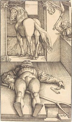 English: The Groom Bewitched by Hans Baldung Grien