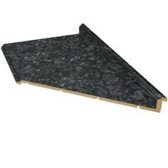 Option Two VT Dimensions Formica 10 Ft Midnight Stone Etchings Miter Laminate Kitchen Countertop
