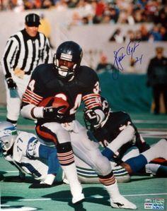 Walter Payton Signed 16x20 Photo - PSA/DNA - Sports Memorabilia #WalterPayton #ChicagoBears #SportsMemorabilia