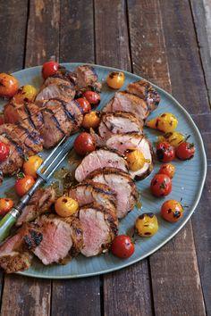 Orange Mojo Pork Tenderloin...great backyard BBQ menu