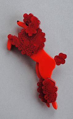 Erstwilder #03 poodle brooch