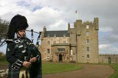 Castle of the Mey in Caithness (the home of the late Queen Mother) was the inspiration for Barrogill.