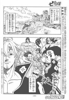 Nanatsu no Taizai {The Seven Deadly Sins} RAW manga 178 [Spoiler]