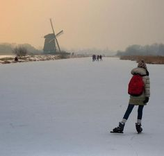 Going to school in the Netherlands (no, that's just a romantic idea)